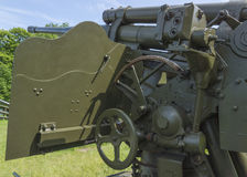 Old artillery weapon Stock Photos