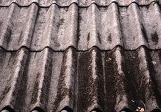 Old asbestos. An old asbestos roof texture Royalty Free Stock Photos