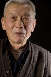 Old Asia Man. Portrait image of a old smiling Chinese man Royalty Free Stock Photo