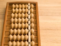Old asian abacus Royalty Free Stock Photo