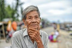 Old asian man Stock Photo