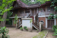 Old asian traditional house Royalty Free Stock Images