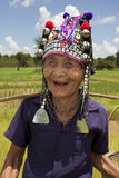 Old Asian woman, Akha
