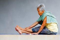 Old Asian Woman Stock Photos