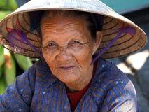 Old asian woman royalty free stock photos