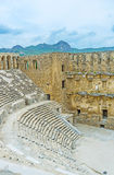 The old Aspendos Royalty Free Stock Photo