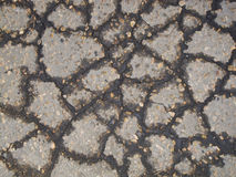Old asphalt pavement Stock Photos