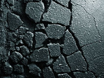 Old asphalt texture Royalty Free Stock Photography