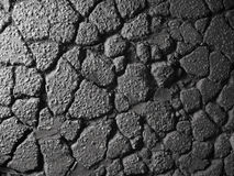 Old asphalt texture Royalty Free Stock Photos
