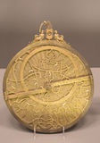 Old golden astrolabe Stock Photos