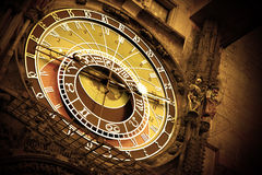 Old astronomical clock Royalty Free Stock Image
