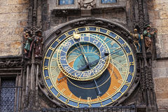 Old astronomical clock Royalty Free Stock Images