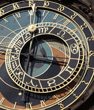 Old astronomical clock in Prague, Stock Photography