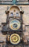 Old astronomical clock, Prague, Czech Republic, Europe Royalty Free Stock Images