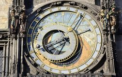 Old astronomy clock Stock Image