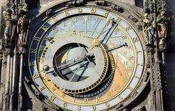 Old astronomy clock Royalty Free Stock Photos