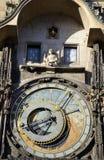 Old astronomy clock Stock Photos