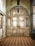 Old Asylum, 3D CG Stock Photos