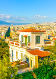 The old Athens Stock Photo