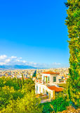The old Athens Royalty Free Stock Image