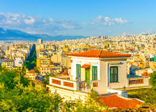 The old Athens Royalty Free Stock Photography