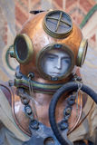 Old atmospheric diving suit Royalty Free Stock Image