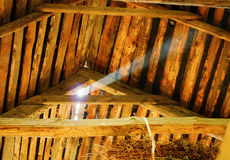 Old attic Royalty Free Stock Photography