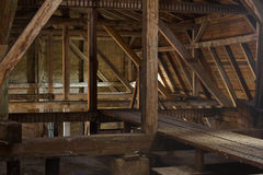 Old attic Stock Images