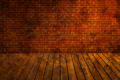 Old Attic. Old dark attic in spots royalty free stock photography