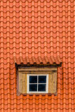 Old Attic Rooftop Window royalty free stock photos