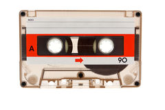 Old audio cassette Royalty Free Stock Photography