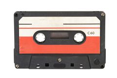 Old audio cassette Stock Photo