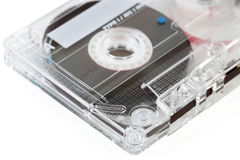 Old audio cassette Royalty Free Stock Images