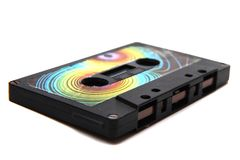 Old audio cassette Stock Images