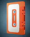 Old audio cassette tape Stock Images