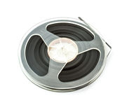 Old audio reel tape with music Stock Photo