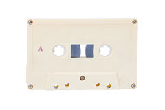 The Old audio tape cassette. Royalty Free Stock Photos