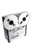 Old Audio Tape Recorder Royalty Free Stock Images
