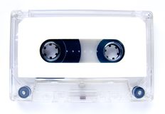 Old audiocassette Royalty Free Stock Photo