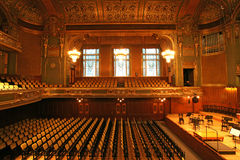 Old auditorium Royalty Free Stock Images