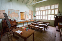 Old Australian Classroom Stock Images