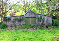 Old Australian farm shed Stock Photography