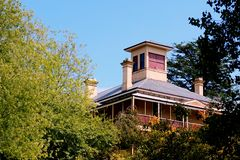 Old Australian Rural House Royalty Free Stock Photography