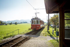 Old austrian train Royalty Free Stock Photography