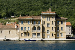 Old Austro-Hungarian hotel Jadran in Bakar Royalty Free Stock Image