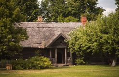 Old authentic house, Lithuania Royalty Free Stock Image