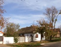 Old authentic house of Vojvodina Royalty Free Stock Photography