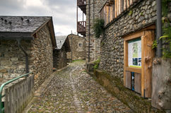 Old authentic village Stock Photo