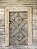 Old authentic wooden doors Stock Photos