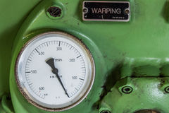 Old Automatic rotor spinning Royalty Free Stock Photography
